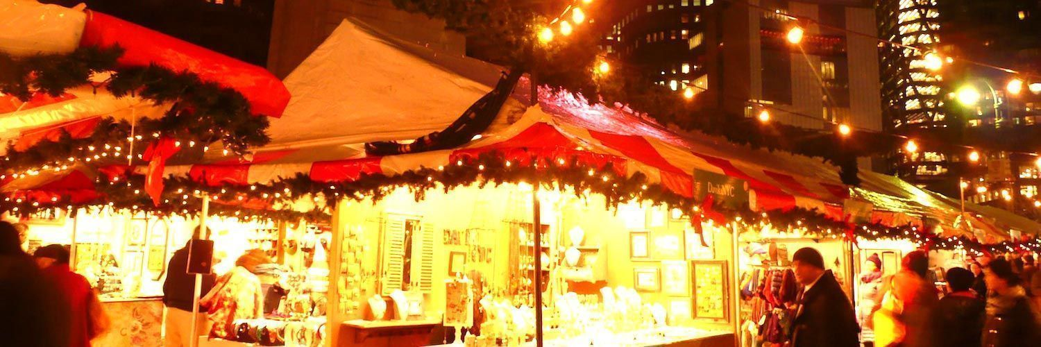 Columbus Circle Holiday Market NYC