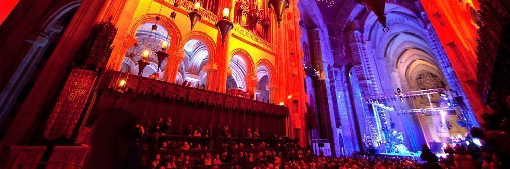Espectaculo Catedral St.John