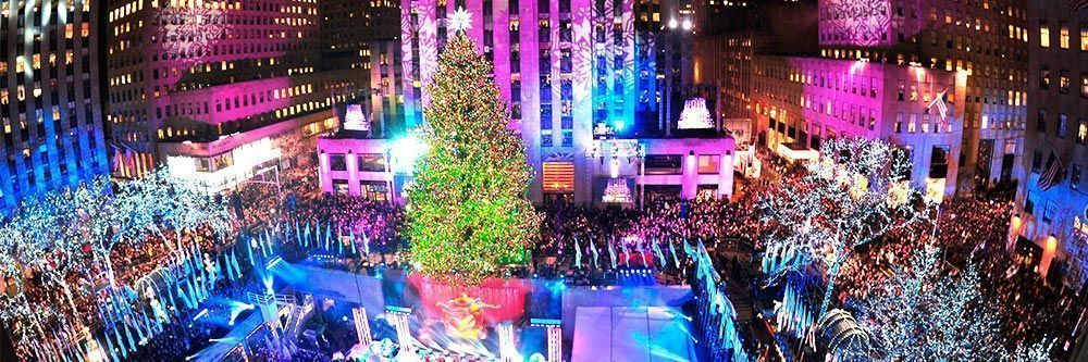 Patinar en el Rockefeller Center Ice Rink NYC